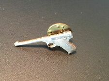 Old Vtg Colt Luger Pistol Hand Gun Silver Tone Pin Jewelry