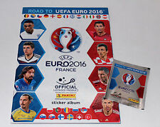 Panini Road to UEFA Euro 2016 France – vacío álbum Empty álbum vuoto vide rare!