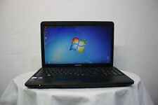 Laptop Toshiba Satellite Pro C650 15.6 2.2Ghz 2GB 160GB Windows 7 Cámara web grado A -