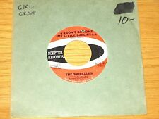 """GIRL GROUP 45 RPM - THE SHIRELLES - SCEPTER 12185 - """"DON'T GO HOME"""""""