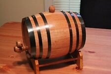 Whiskey Mini Oak Barrel Beer Wine Aging Wood Cask Table Bar Pub Decor Hand Made