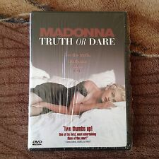 Madonna Truth Or Dare DVD First Edition Issue 1997 USA Brand New Blond Ambition