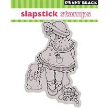 PENNY BLACK RUBBER STAMPS SLAPSTICK CLING FOR GOODNESS SAKES STAMP