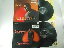 HARRY BELAFONTE Lot of 2 / Bob Dylan 1st / German Audiophile- Midnight & Jump Up