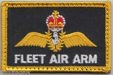 Royal Navy Fleet Air Arm Velcro Backed SMALL Embroidered Patch Badge