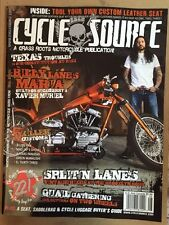 Cycle Source Texas Troubles Xavier Muriel Split'n Lanes Aug 2015 FREE SHIPPING!