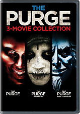 The Purge: 3-Movie Collection [DVD, NEW] FREE SHIPPING