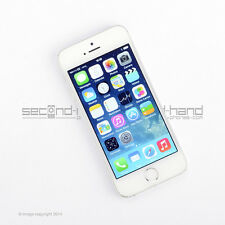 Apple iPhone 5S 16GB White/Silver Factory Unlocked SIM FREE Good Condition