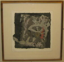 Vintage 1986 NORMA TALMA 'Abstract Paper COLLAGE' - Important BARBADOS Artist