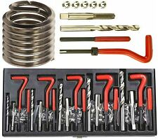 131pc Helicoil Filo/Rethread Kit Di Riparazione/Set m5 m6 m8 m10 m12 Metrico