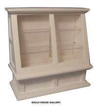White Shop Counter Display, Dolls House Miniature, 1.12th Scale Furniture