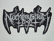 NACHTMYSTIUM BLACK METAL EMBROIDERED BACK PATCH