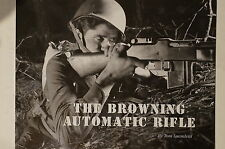 WW1 to WW2 US AEF The Browning Automatic Rifle Reference Book