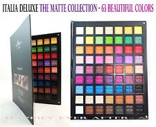 ITALIA DELUXE -THE 63 MATTE COLORS PALETTE -Great Quality Eye Shadow *US SELLER*