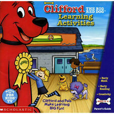 Educational PC games for kids, Clifford The Big Red Dog,Learning  math, reading