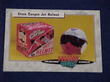 CLASSIC TOYS TRADING CARDS STEVE CANYON FIGHTER PILOT JET HELMET