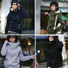 Lady Hooded Coat Sweatshirt Jacket Pullover Encase Finger Long Sleeve Perfect