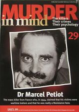 Murder in Mind Issue 29 - Dr Marcel Petiot