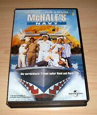 VHS - McHale's Navy - Tom Arnold - David Alan Grier - Komödie - Videokassette