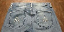 "Seven For All Mankind Mens Jeans A Pocket ""A PKT"" 33X29 Bootcut 7 FAM"