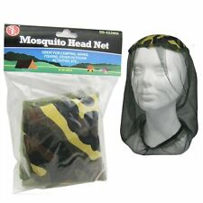 Mosquito Head Net (OD Green) Camping Hunting Fishing Insect Repellent Net
