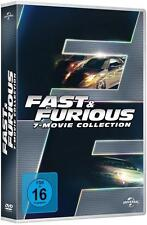 Fast and  Furious 1+2+3+4+5+6+7  Movie Collection  7-DVD BOX NEU  OVP