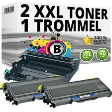 2x TONER+TROMMEL für BROTHER HL2140 HL2150N HL2170W DCP 7030 7040 MFC 7320 7340
