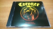 Coroner - Punishment For Decadence(1988)CD
