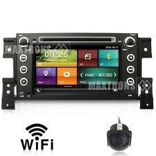 Car DVD GPS Player Nav Wifi For Suzuki Grand Vitara Nomade 2005-2014 Free Camera