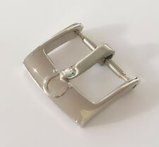 NEW 18mm OMEGA STAINLESS STEEL TANG BUCKLE FOR LEATHER STRAP