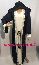Latest Design Dubai Abaya Kaftan Farasha  Maxi Dress women Abaya +hijab
