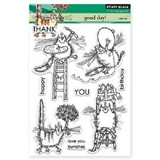PENNY BLACK RUBBER STAMPS CLEAR GOOD DAY! NEW STAMP SET 2014