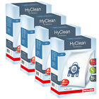 4 BOXES MIELE ORIGINAL G/N VACUUM CLEANER BAGS HYCLEAN GN SYNTHETIC FIT ALL 5000