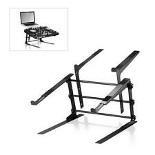 NEW Pyle PLPTS38 Universal Laptop Stand  Sound Equipment DJ Mixing Workstation