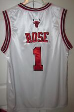 NBA Chicago Bulls Derrick Rose #1 Replica Jersey Size 54 by Adidas EUC
