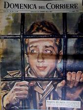 Domenica del Corriere 20 1963 Processato e assolto Mike Bongiorno. Elezioni C50
