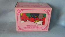 Sanrio Hello Kitty Musical Jewelry Box Collectible Vintage 1976, 1990 New