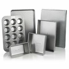 USA Pan Bakeware Aluminized Steel 6 Piece Set