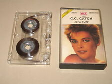 CC C.C. CATCH - Big Fun - MC Cassette un/official polish tape 1989
