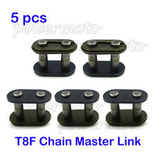 5x T8F Chain Master Link For 43cc 47cc 49cc Mini ATV Quad Dirt Super Pocket Bike