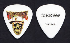 Avenged Sevenfold Zacky Vengeance REV Tribute White Guitar Pick - 2011 Tour
