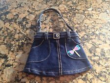 Girls Homemade Jean Purse New/never Used!