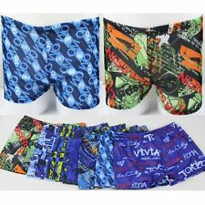 Sexy Cool Men's Swimwear Boxer Swimming Trunks Swim Shorts Beach Pants Underwear