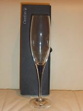 Orrefors Intermezzo Blue Champagne Flute New in Box