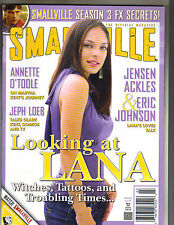 KRISTIN KREUK Smallville Official Magazine 3/05 #6 TOM WELLING JENSEN ACKLES