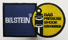 """BILSTEIN"" Race Sponsor Embroidered Iron-On Patch - MIX 'N' MATCH - #1T09"