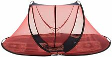 7x3.5 Feet SINGLE BED PORTABLE FOLDING MOSQUITO NET FOR INDOOR & OUTDOOR USE!!