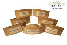 7 x 10g Tea Samples Taster Caffeine Free Tisanes & Decaffeinated Loose Leaf