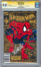 SPIDER-MAN #1 CGC-SS 9.8 *RARE WAL-MART UPC CODE VARIANT* SIGNED STAN LEE 1990