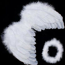 Newest Baby Kids White Angel Wings Feather for Party Decoration And for Photo